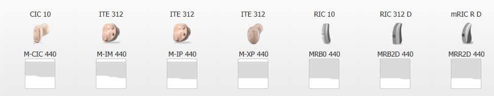 Différentes-formes-appareils-auditifs-Widex-Moment-existantes
