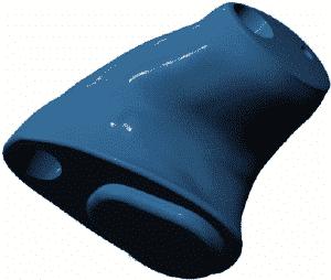 Embout porte écouteur pour appareil auditif Resound power