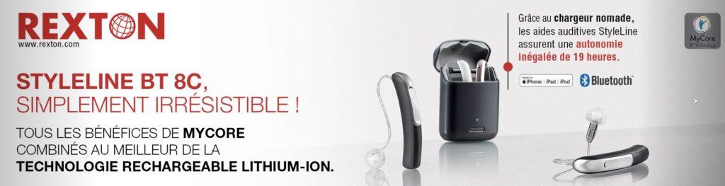 En savoir plus sur les différentes séries d'appareils auditifs Rexton prix imbattable