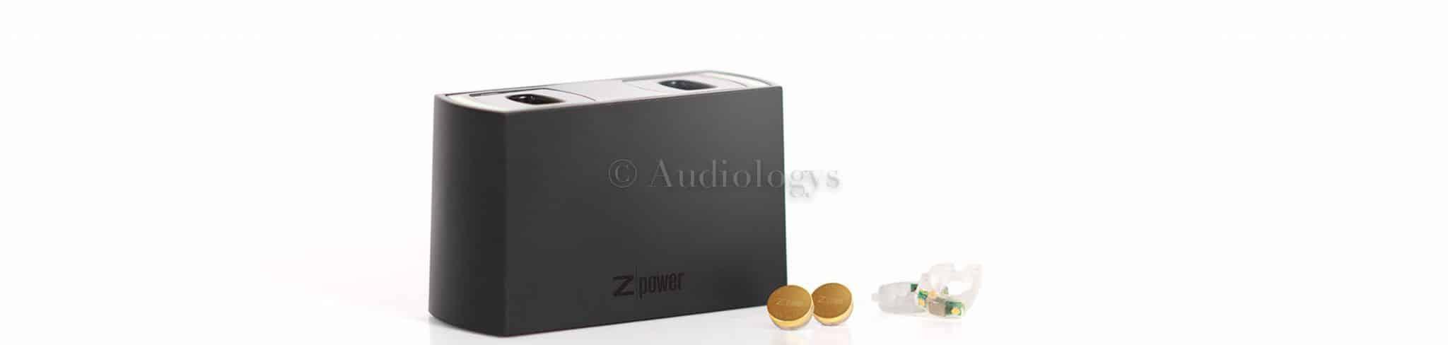 Chargeur Z power : la référence en matière d'audioprothèses rechargeables !!!