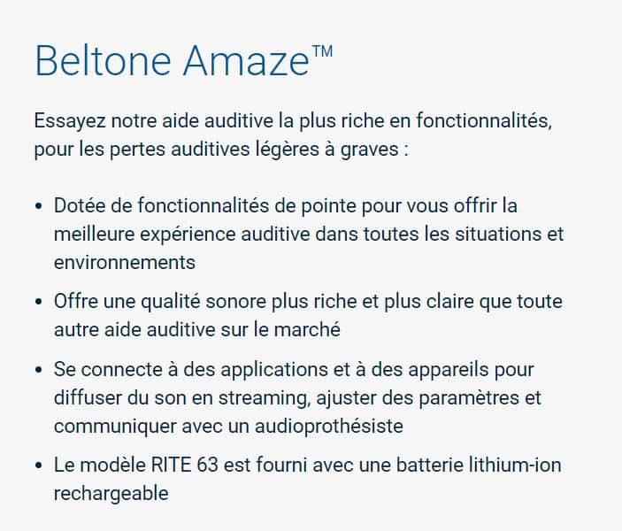 beltone-amaze-964-détail