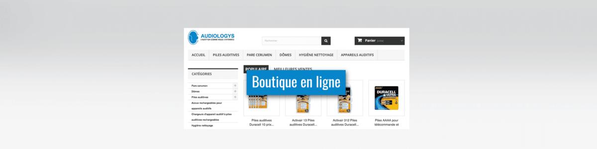 Tous les accessoires pour vos prothèses auditives : Boutique en ligne piles-auditives.fr