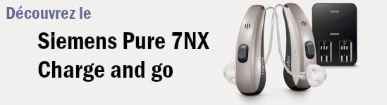 Découvrez le Siemens pure 7nx Charge and Go