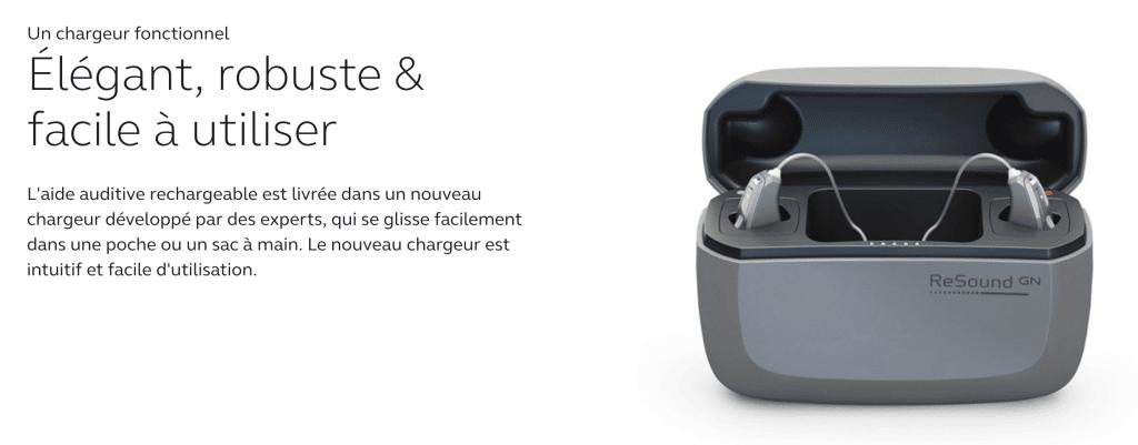 Photo du nouveau chargeur linx 4D pour Quattro