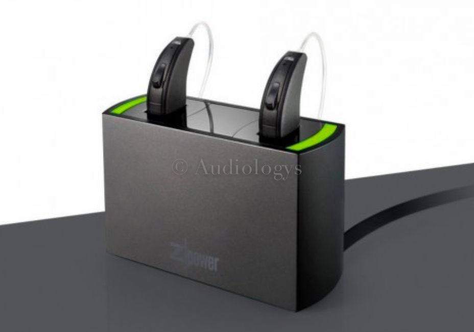 Le chargeur Z Power est compatible avec un grand nombre de modèles d'appareils auditifs utilisant des piles de type 312